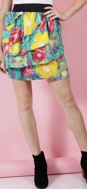Graffiti Floral Skirt - [product_style] - Skirt - WILLOWTREE MARKET