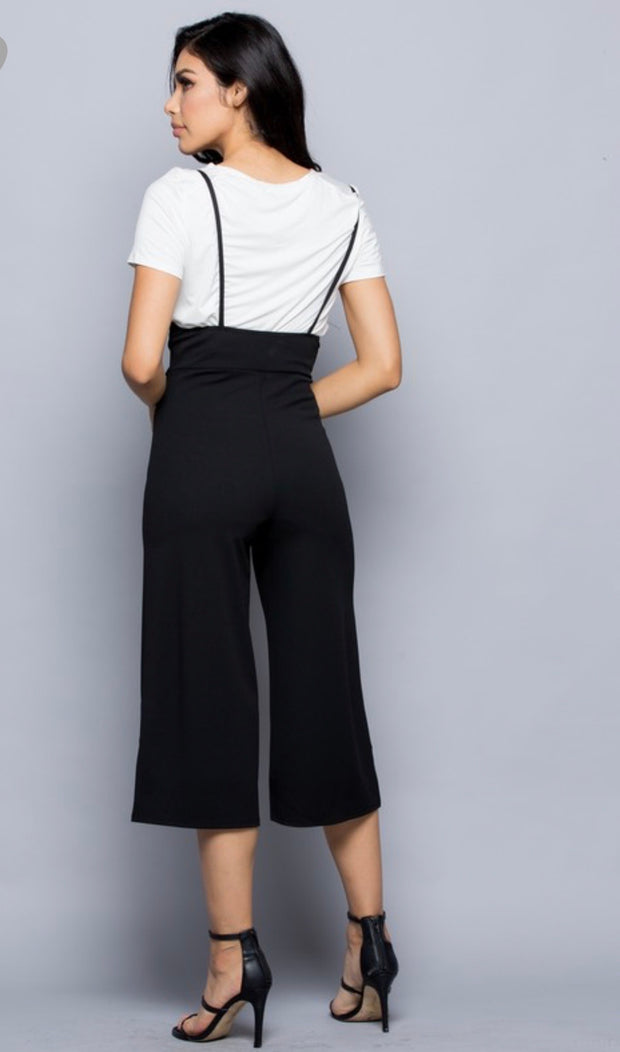 Heather High Waist Culotte Pants - [product_style] - Clothing - WILLOWTREE MARKET