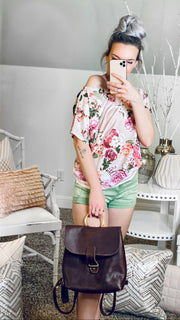 Francesca Floral Top - [product_style] - Tops - WILLOWTREE MARKET