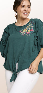 Rustic Ruffles Top - [product_style] - Tops, Clothing - WILLOWTREE MARKET