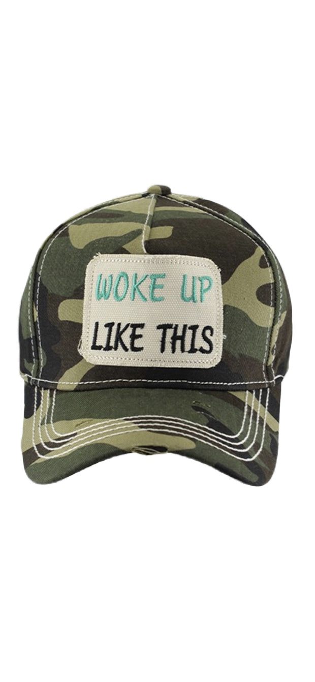 Woke Up Like This Ball Cap - [product_style] - Hats - WILLOWTREE MARKET