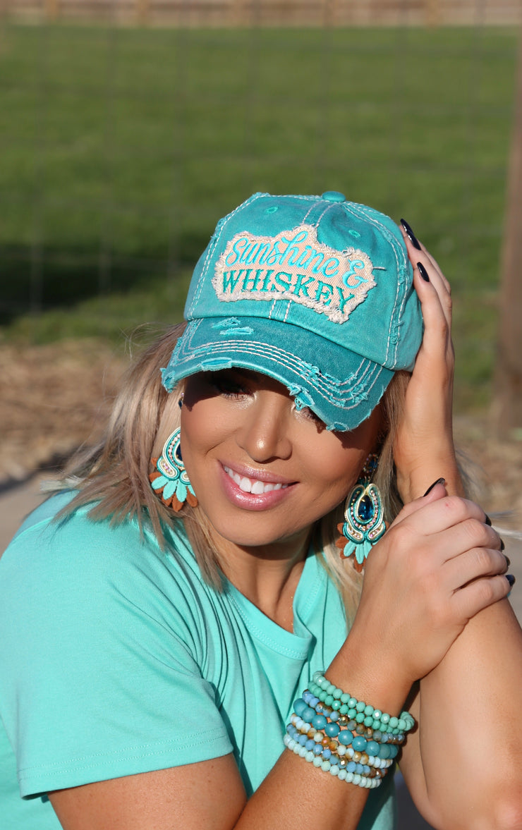 Sunshine And Whiskey Cap - [product_style] - Hats - WILLOWTREE MARKET