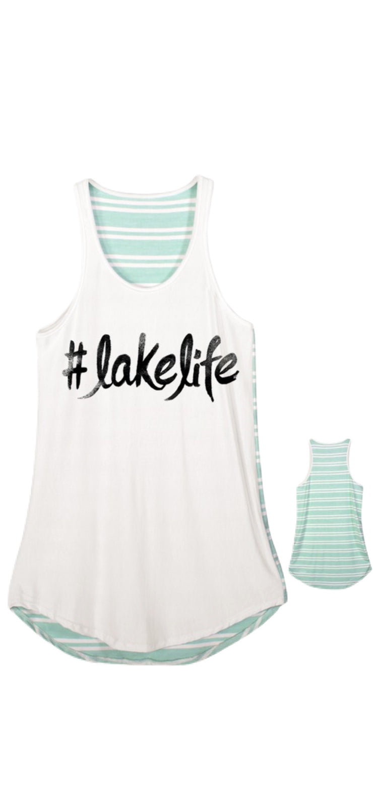 Lake Life Tank - [product_style] - Default - WILLOWTREE MARKET