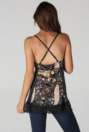 Stella Satin Zip Back Cami - [product_style] -  - WILLOWTREE MARKET