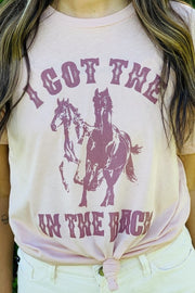Horses In The Back Tee - [product_style] - Default - WILLOWTREE MARKET