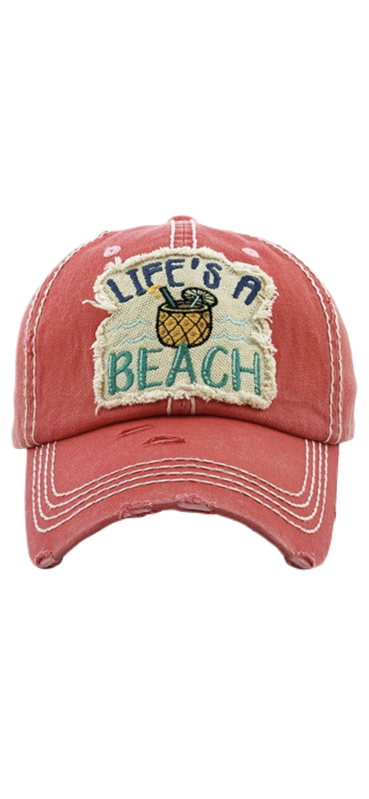 Life's A Beach Ball Cap - [product_style] - Hats - WILLOWTREE MARKET