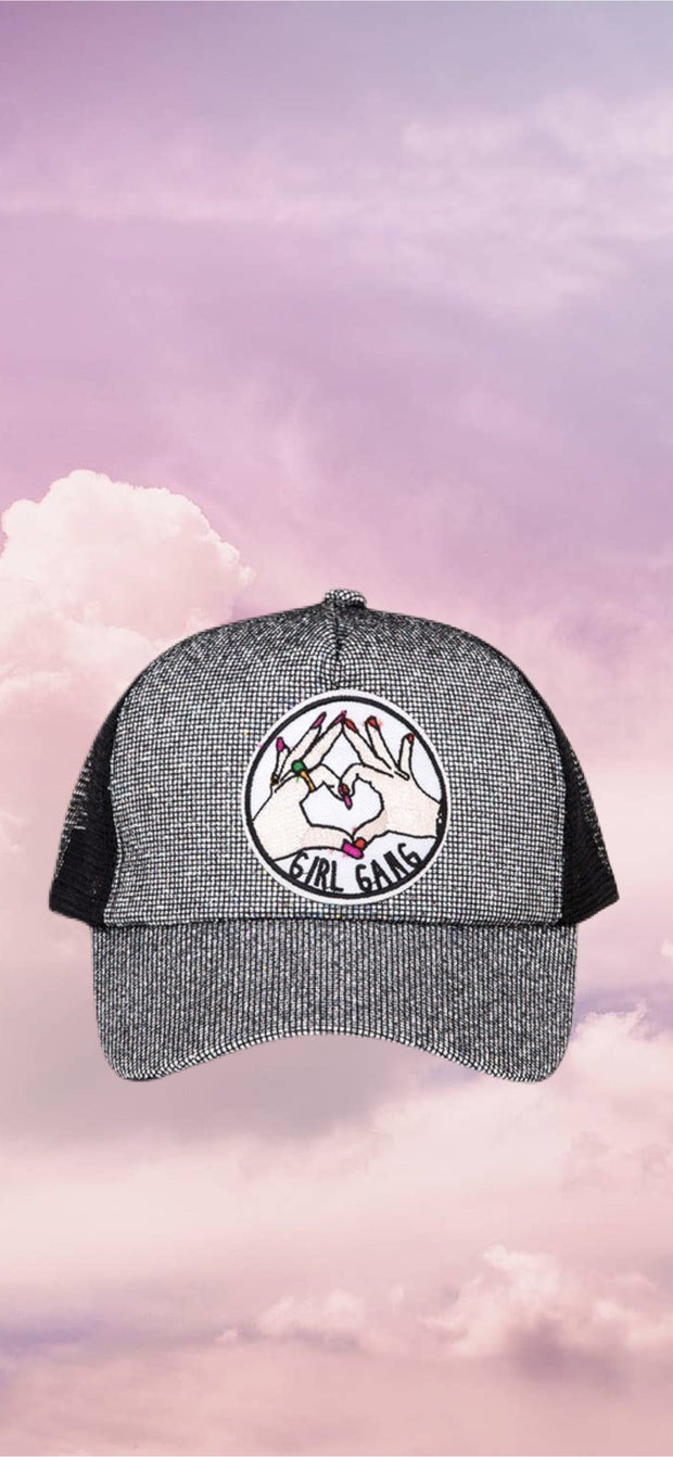 Girl Gang Ball Cap Sparkly