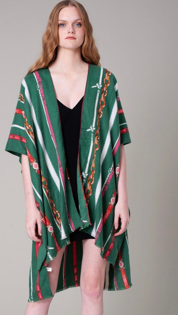 Retro Chain Kimono - [product_style] - Default - WILLOWTREE MARKET