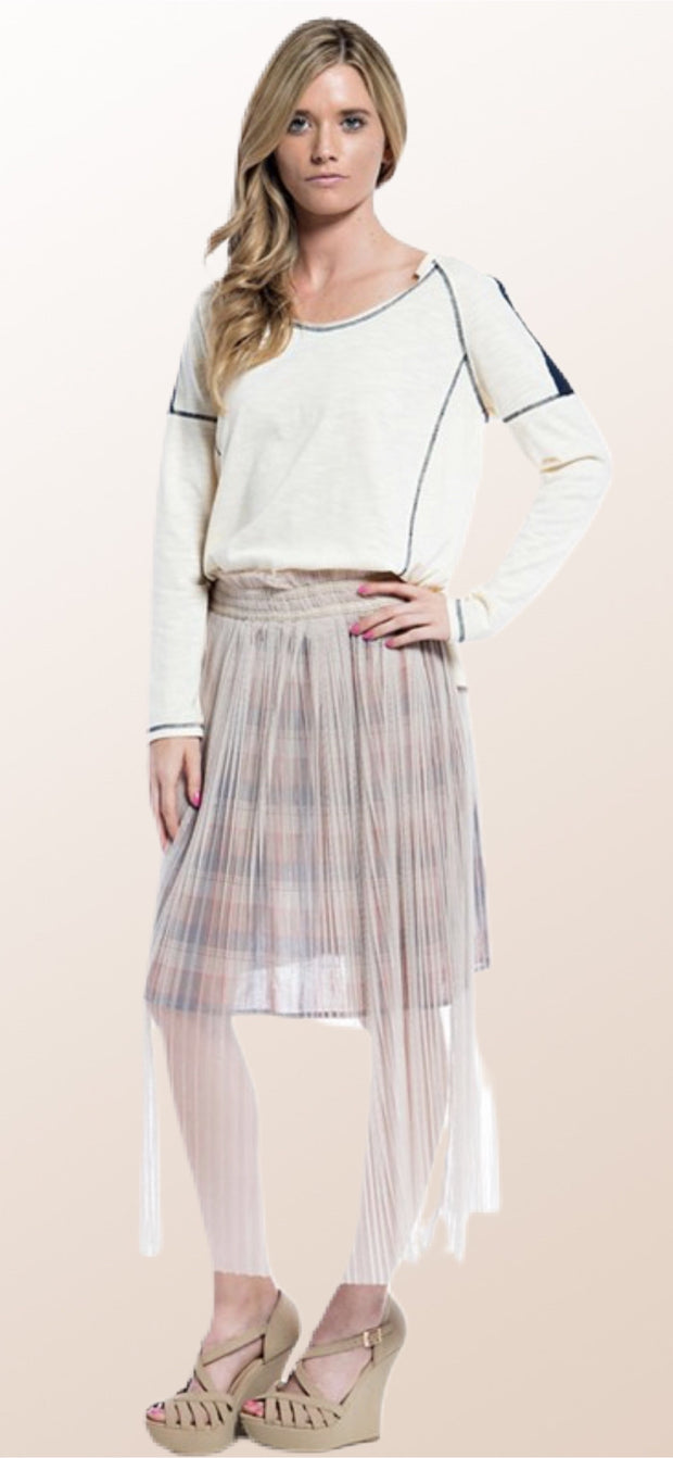 Polly Pleated Midi Skirt - [product_style] - Default - WILLOWTREE MARKET