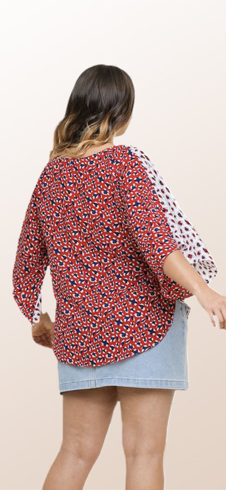 Animal Print Top - [product_style] - Tops, Clothing - WILLOWTREE MARKET
