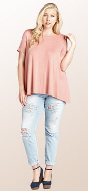 Melanie Mauve Top - [product_style] - Tops - WILLOWTREE MARKET