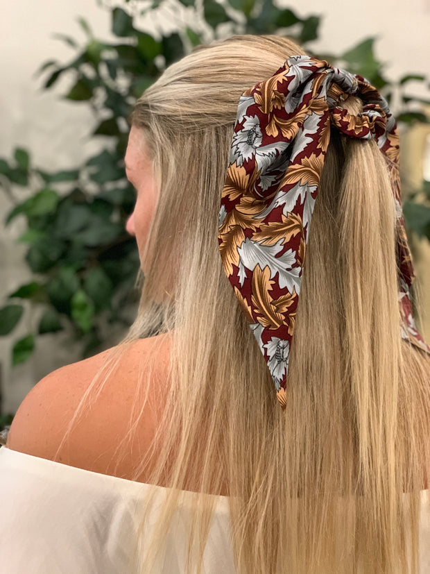 Vintage Scarf Scrunchie - [product_style] - Accessories - WILLOWTREE MARKET