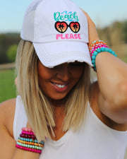 Beach Please Ball Cap - [product_style] - Hats - WILLOWTREE MARKET