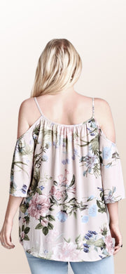 Lucy Lavender Floral Top - [product_style] - Default - WILLOWTREE MARKET
