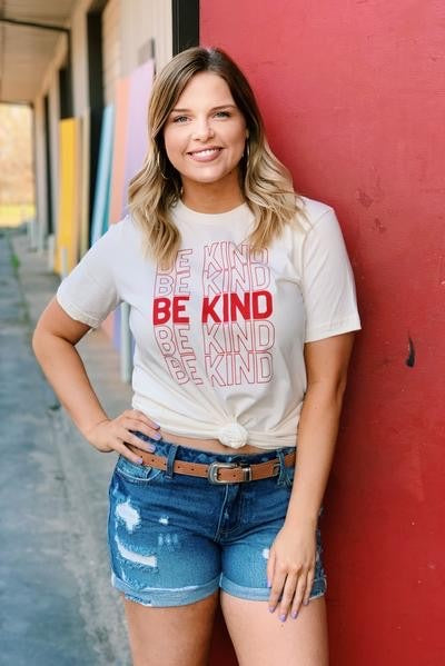 Be Kind Tee - [product_style] - Tops - WILLOWTREE MARKET