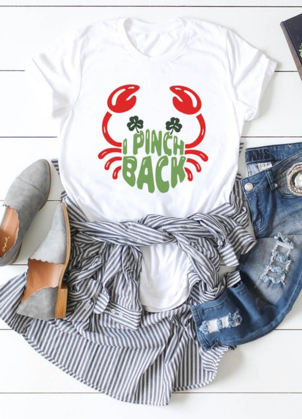 I Pinch Back Tee - [product_style] - Tops - WILLOWTREE MARKET