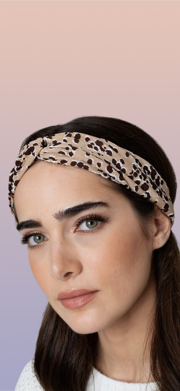 Cheetah Headband - [product_style] - Default - WILLOWTREE MARKET