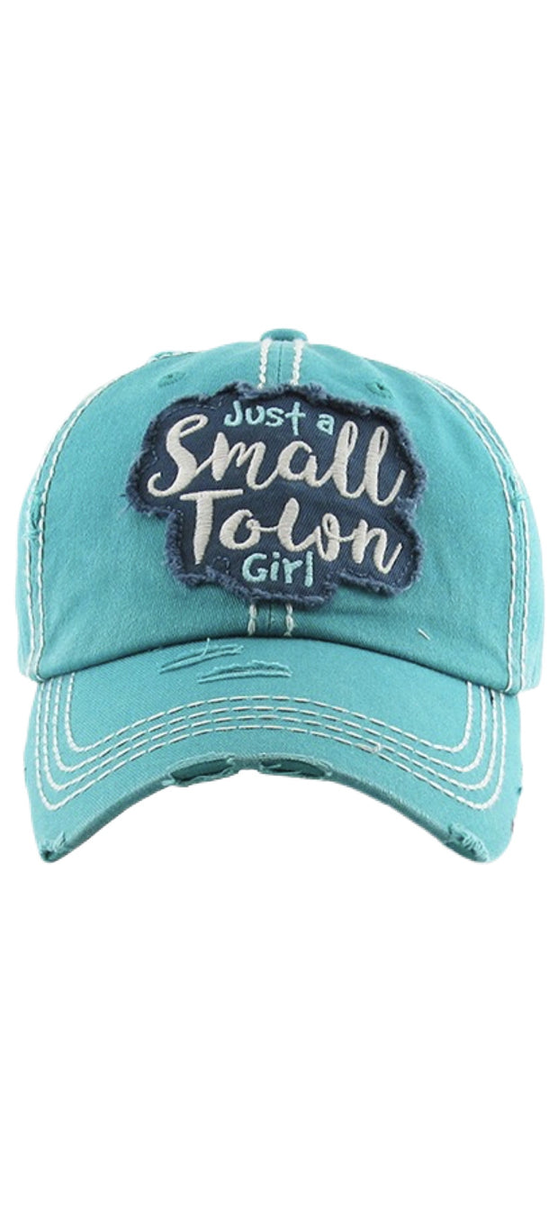 Just A Small Town Girl Ball Cap - [product_style] - Hats - WILLOWTREE MARKET