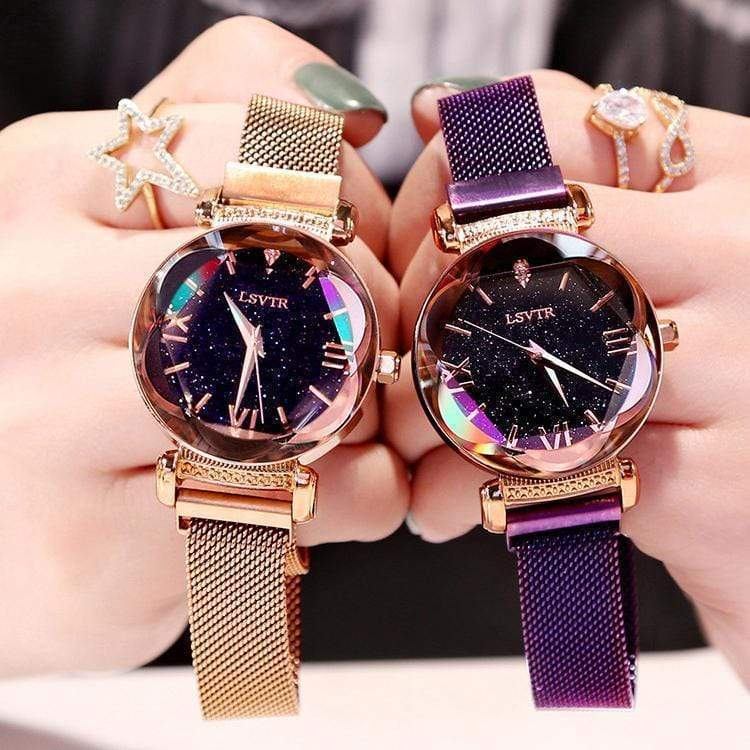 Last Day Promotion 50% OFF 🔥Magnetic Starry Sky Watch