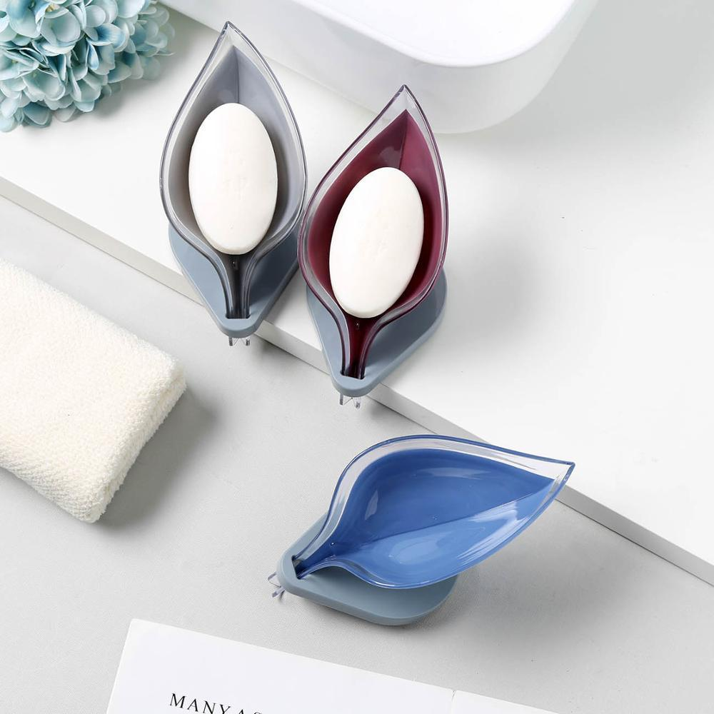 Creative leaf drain soap box (Set of 3) - 💥50% OFF - Early Spring Promotion