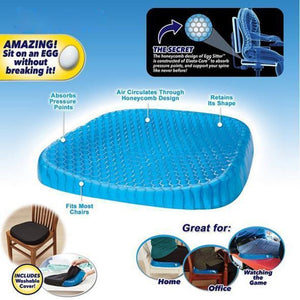 Premium Gel Cushion For Back Pain Relief - 💥50% OFF - Early Spring Promotion