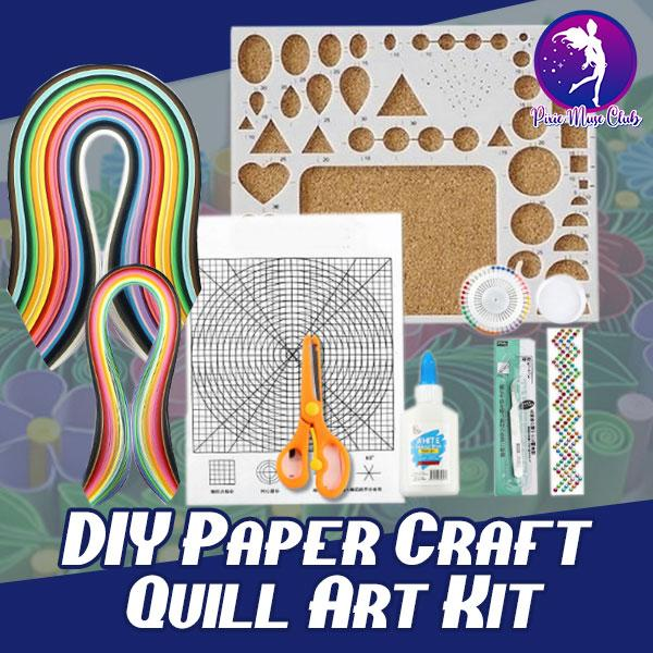 DIY Paper Craft Quill Art Kit - 💥50% OFF