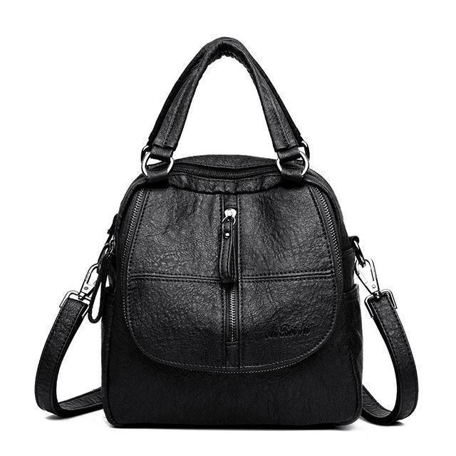 Fashion Leather Multipurpose Handbag - 💥50% OFF - Early Spring Promotion