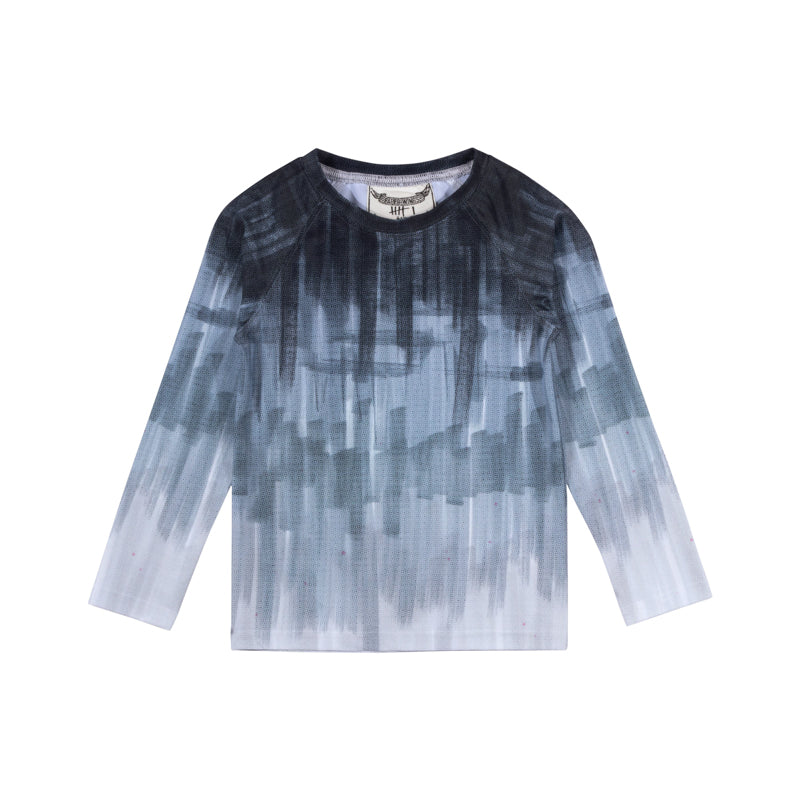 Paper Wings - Long Sleeve Rashie - Texta Ombre