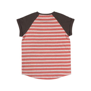 Paper Wings - Raglan Cuff T-Shirt - Sea Dog