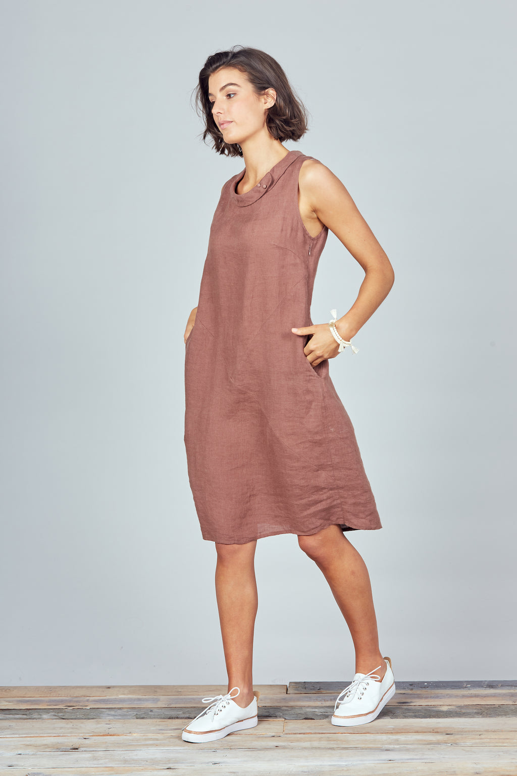 Brave + True - Sidewalk Dress - Earth