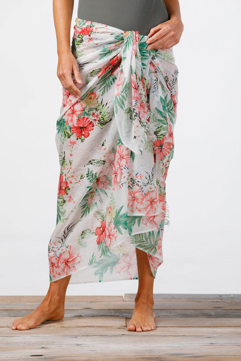 Holiday - Tropical Scarf-Sarong
