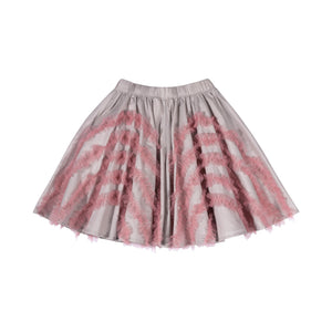 Paper Wings - Circle Skirt with Frills