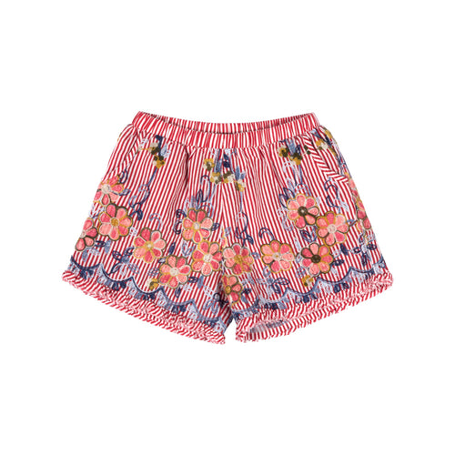 Paper Wings - Embroided Shorts