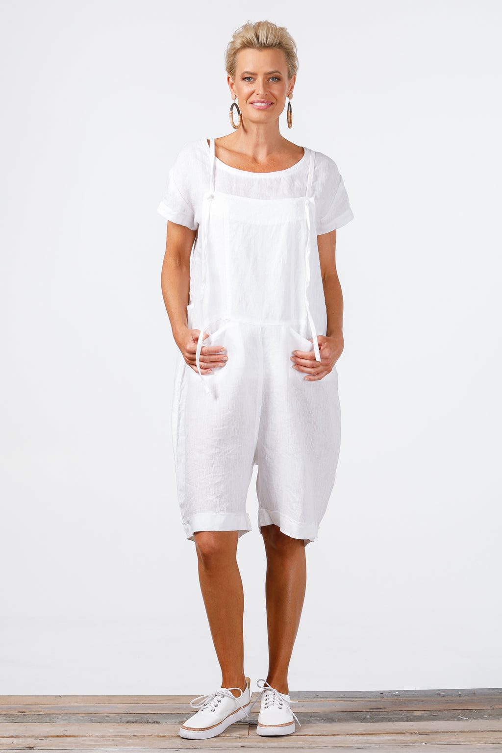 Holiday - Escape Overalls - White