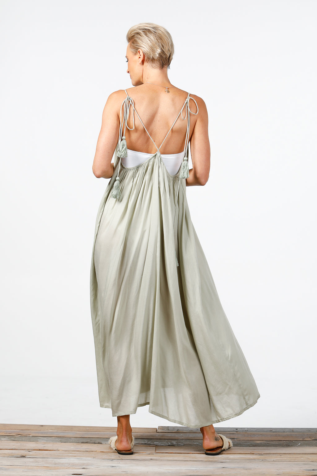 Holiday - Higher Love Maxi Dress - Sage
