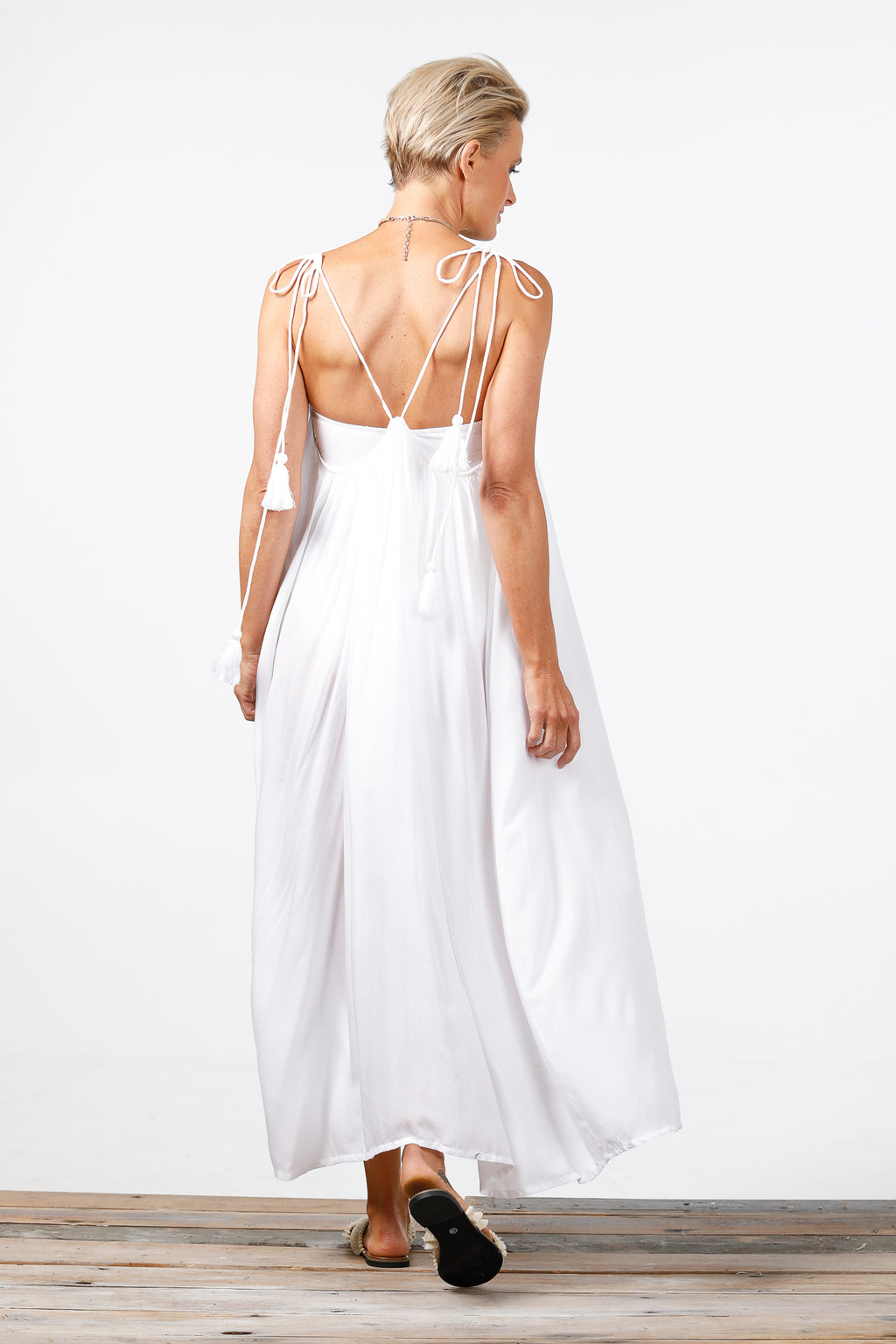 Holiday - Higher Love Maxi Dress - White