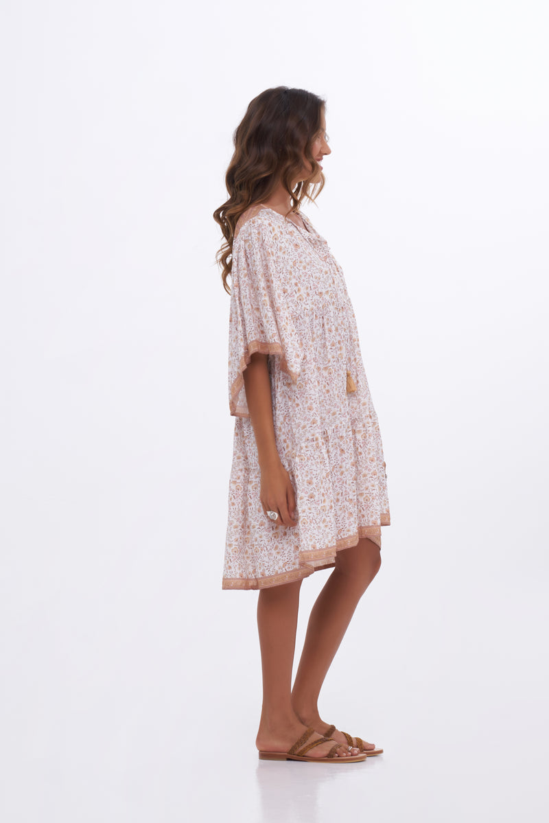 Indian Summer - Pomelo Dress - Ivory