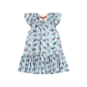 Little Wings by Paper Wings - Frilled Shoulder Dress - Yarn Kitty