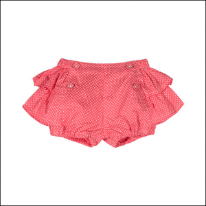 Little Wings by Paper Wings - Frilled Bloomers - Red Spot