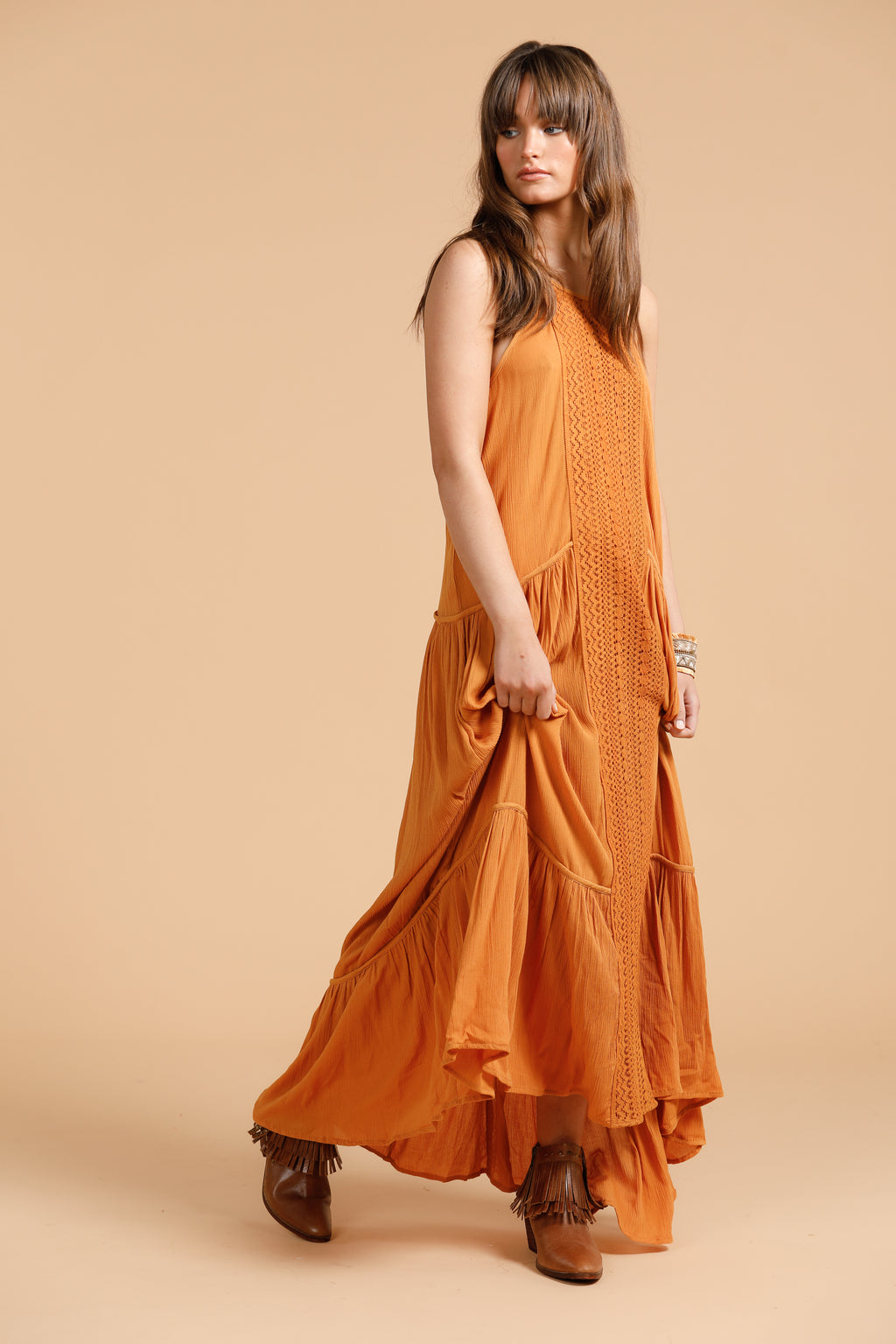 Talisman - Isobel Dress Tumeric