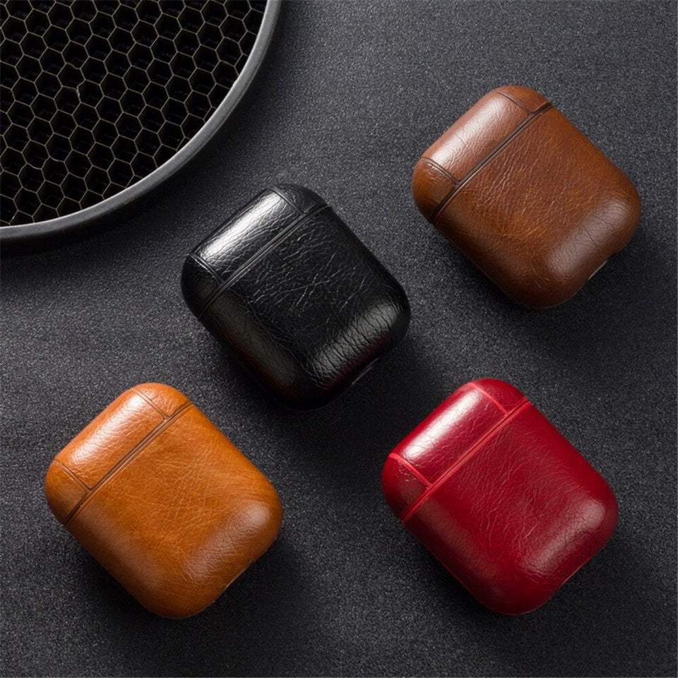 Luxury Leather AirPods Case