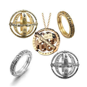 Astronomical Sphere Ring & Pendant 2