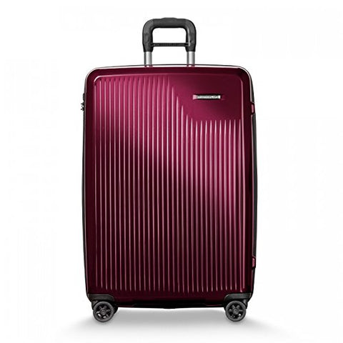 "Briggs & Riley Sympatico Expandable Carry-On CX 30"" Spinner, Burgundy"