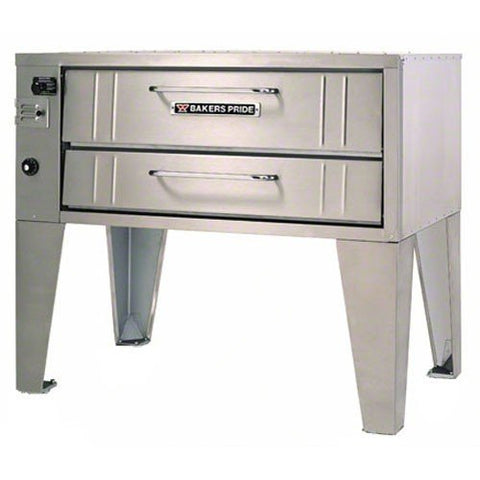 Bakers Pride SuperDeck Stubby-Shallow Depth Gas Deck Oven, 66 x 33 x 54 inch -- 1 each.