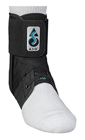 Med Spec ASO Ankle Stabilizer, Black, 3X-Large