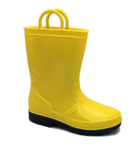 SkaDoo Yellow Little Kid Youth Rain Boots 13 M US Little Kid