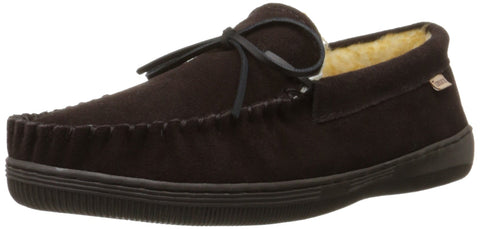 Tamarac by Slippers International 7161 Men's Camper Moccasin,Rootbeer,14 M US
