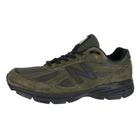 New Balance Men's M990v4 Running Shoe, Military Green , 10 D US