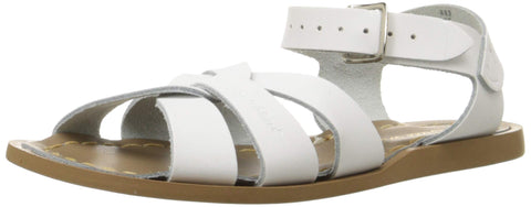 Salt Water Sandals by Hoy Shoe Original Sandal (Toddler/Little Kid/Big Kid/Women's), White, 10 M US Toddler