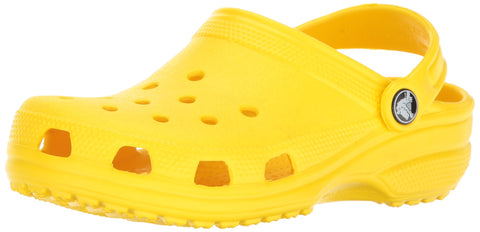 Crocs Unisex Classic Clog, Lemon, 11 M US Little Kids